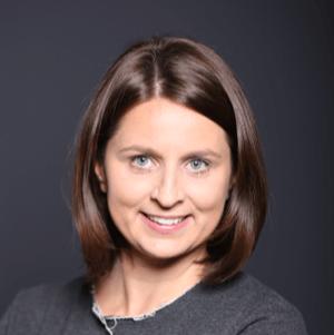 Małgosia Wolska - czyta bloga prawie 2 lata